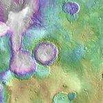 Some Ancient Mars Lakes Came Long After Others