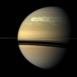 Saturn's Northern Storms Cause Disturbances in Its 'Heartbeat'