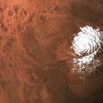 Liquid water spied deep below polar ice cap on Mars