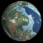 Interactive globe of ancient Earth!